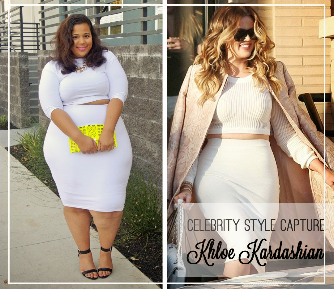 Celebrity style capture khloe kardashian my top plus sized bloggers Celebrity fashion style blog